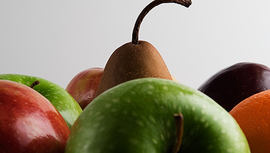 Apples or pears – which are your staff giving away?