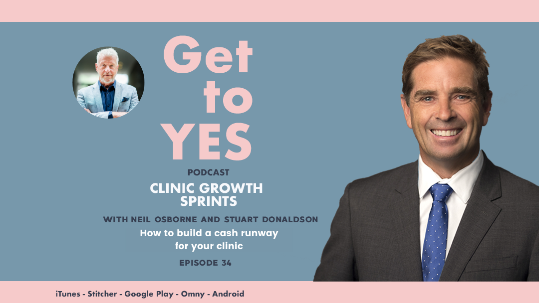 E34: B2C Interview w/- Stuart Donaldson – How to build a cash runway for your clinic