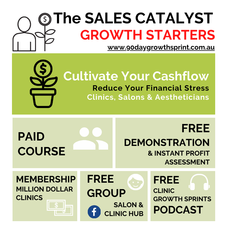 Cultivate Your Cashflow, with The SALES CATALYST