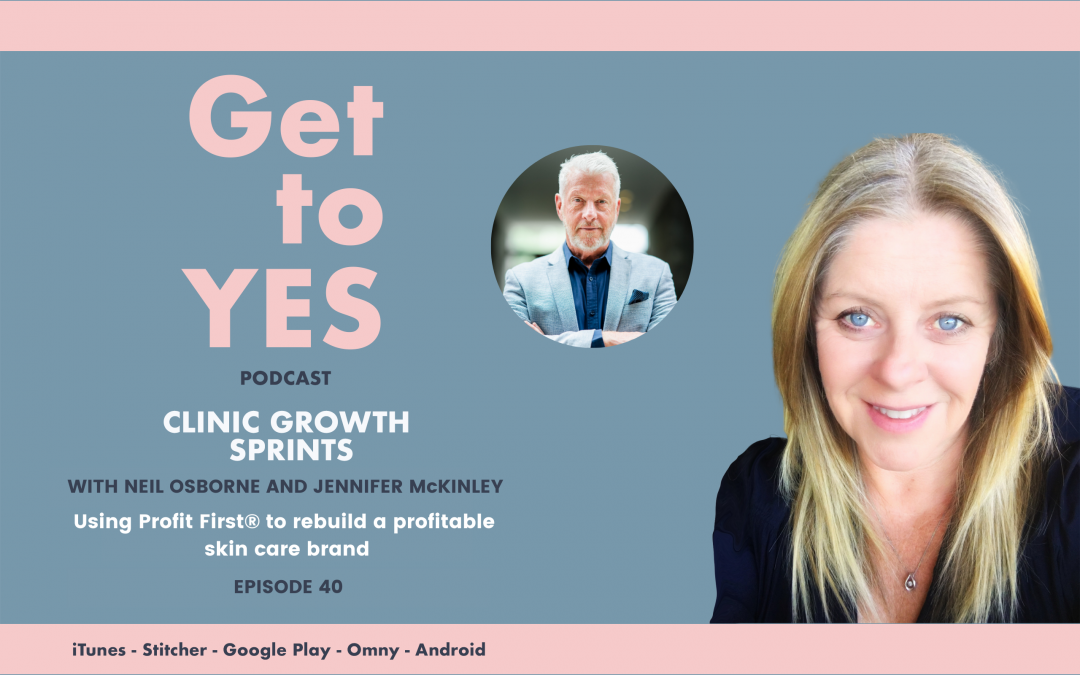E40: B2C Interview w/- Jennifer McKinley – Using Profit First to rebuild a profitable skin care brand